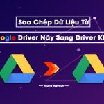 Làm thế nào để sao chép dữ liệu Google Drive từ tài khoản này sang tài khoản Google Drive khác?